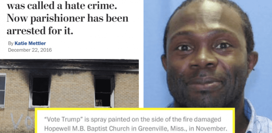 23 HATE CRIMES Blamed On Trump Since His Inauguration…EVERY Incident Turned Out To Be A HOAX