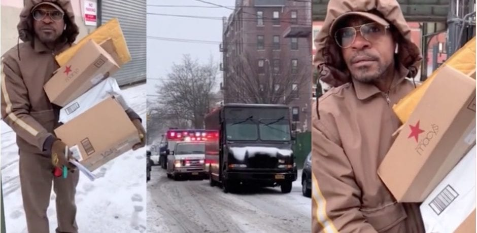 UPS Driver Caught On Video…REFUSES To Move For Ambulance