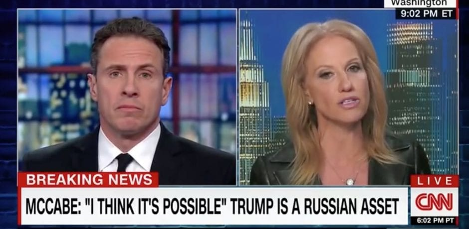 "KELLYANNE CONWAY SAVAGES Chris Cuomo For 20 Spectacular Minutes…""You're Gonna Have To Be As Miserable As You Are For 6 More Years"""