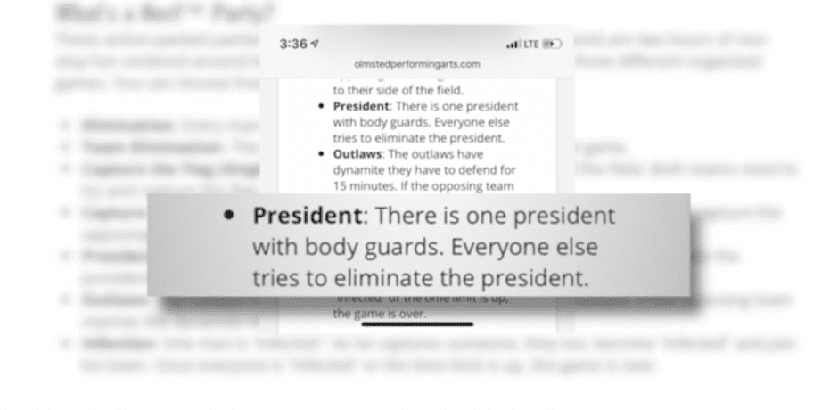 "OHIO COMMUNITY CENTER Offers ""SHOOT THE PRESIDENT"" Birthday Party Package On Website [VIDEO]"