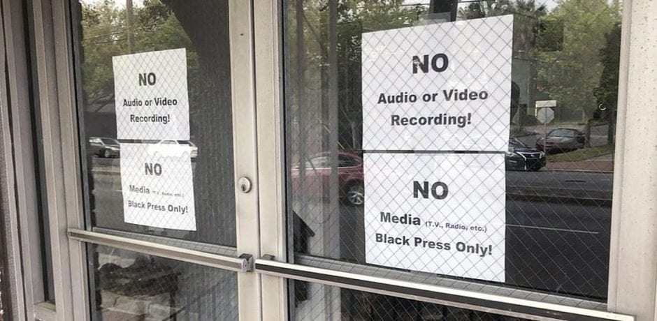 """BLACK PRESS ONLY!"": Meeting On Savannah Mayor's Race Excludes All But Black Press"