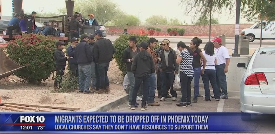 ICE MASS RELEASE: 1,000's of Illegals Dropped Off At Bus Stations In Phoenix, El Paso, San Diego [Video]
