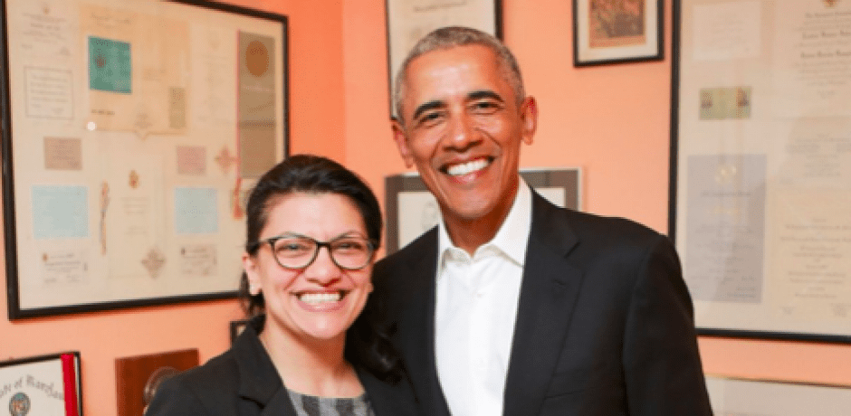 "ANTI-ISRAEL DEM RASHIDA TLAIB Just Met With Obama Who Said ""I'm proud of you"" [Video]"