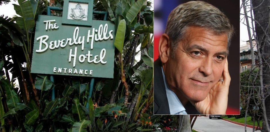 BILL MAHER'S Shocking Slam On George Clooney Calls Attention To Swanky Muslim-Owned Beverly Hills Hotel
