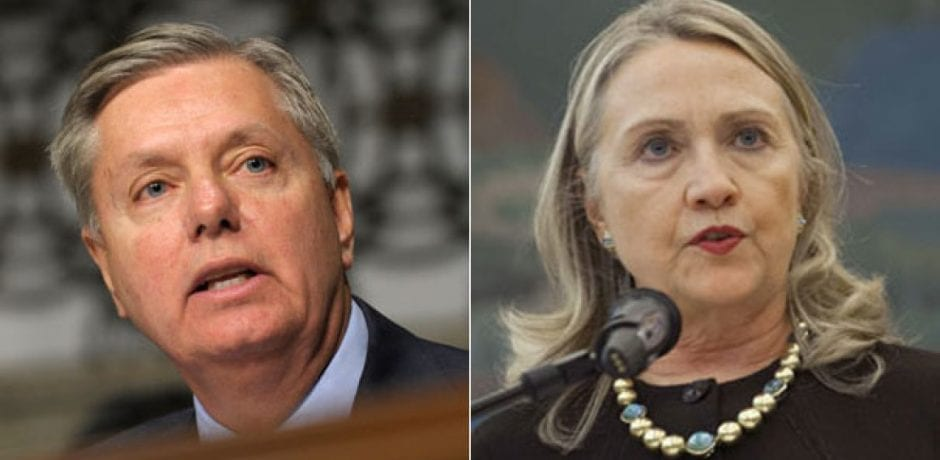 LINDSEY GRAHAM DEMANDS Special Counsel Investigation Into Hillary…Homophobic, Intolerant Left Try To Smear Him With Closet Gay Tweets
