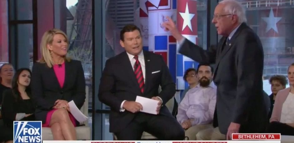 ANGRY BERNIE SANDERS Gets WRECKED By Bret Bair Over Keeping His Trump Tax Cuts During Fox News Town Hall…And It's GLORIOUS! [VIDEO]