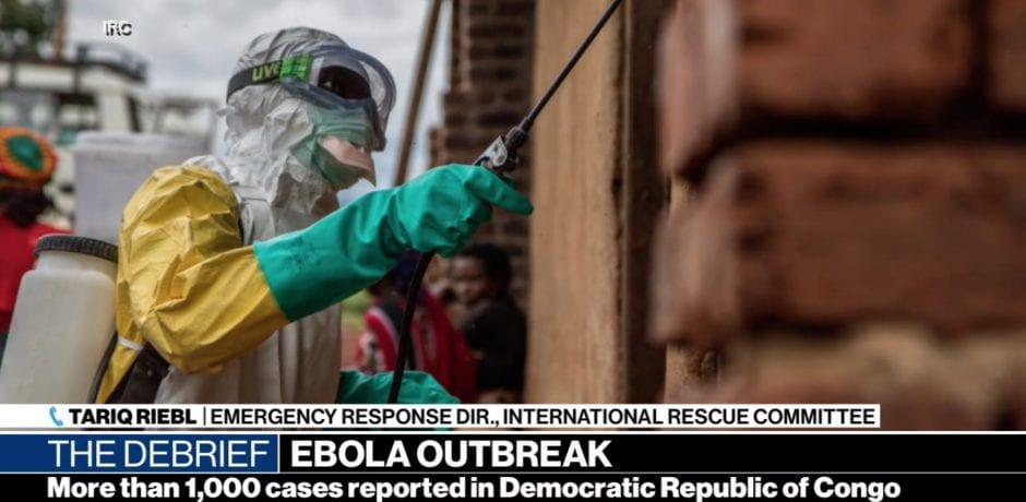 JUST IN: 20 CONGOLESE MIGRANTS BEING Monitored For Ebola On Texas Border
