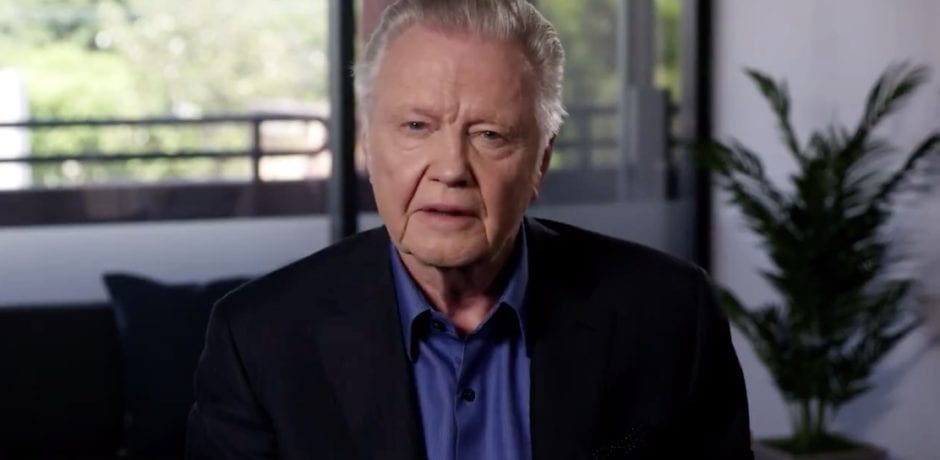 "ACTOR JON VOIGHT Asks Americans To Get Behind Trump: ""President Trump is the greatest president since Abraham Lincoln"" [VIDEO]"