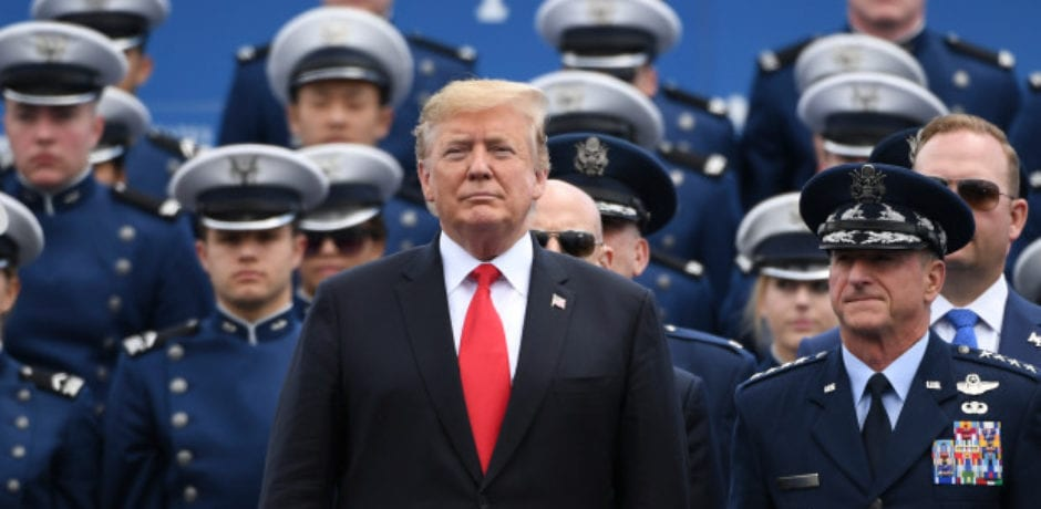 Trump Shakes Hands With All 1,000 Air Force Academy Graduates [Video]