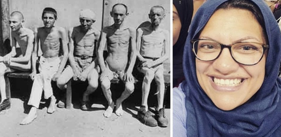 "DEMOCRAT REP Rashida Tlaib: Thinking About the Holocaust Gave Me ""Kind Of A Calming Feeling"""