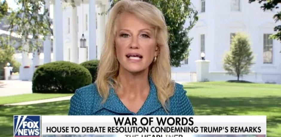 """KELLYANNE CONWAY Goes Scorched Earth On """"The Squad"""": """"We're Tired Of Some Of These Women Palling Around With Terrorists…Where Is The Press?"""" [VIDEO]"""