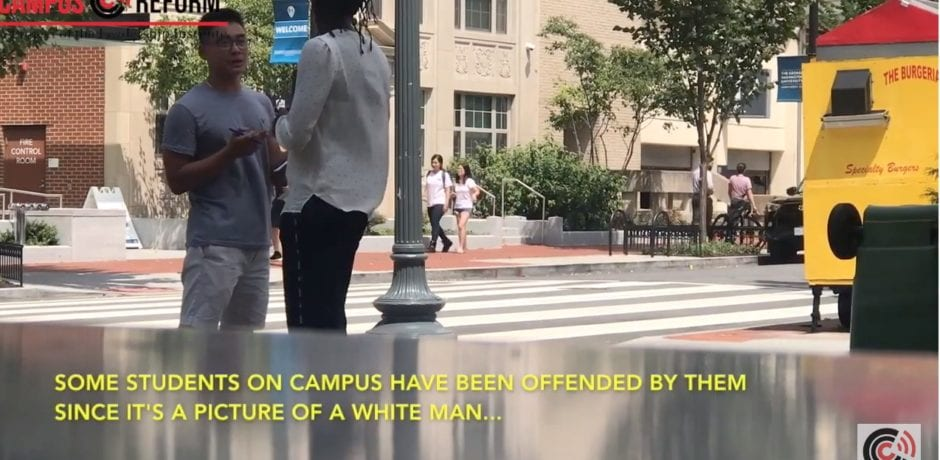 "STUDENTS SIGN PETITION To Replace ""White Man"" Crossing Symbols With More Diverse Symbols [VIDEO]"