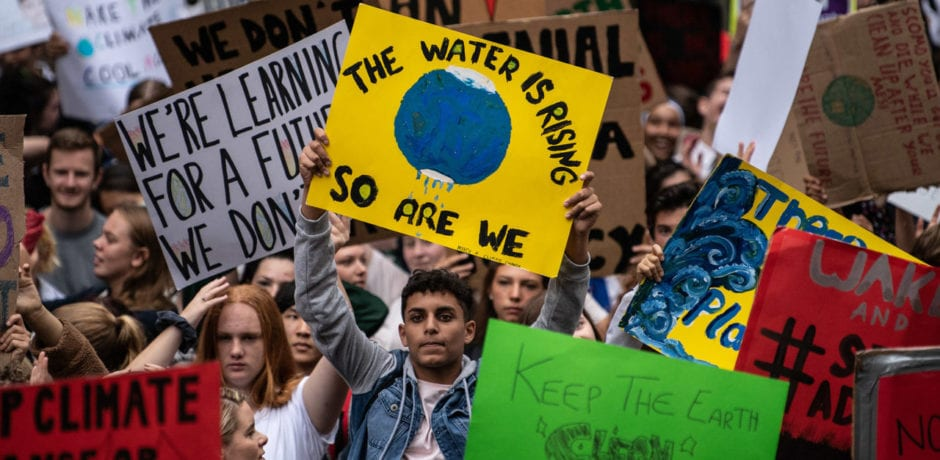 """VIDEO: 1.1 Million NYC Students Allowed, With Parental Permission, to Skip School for """"Climate Strike"""""""