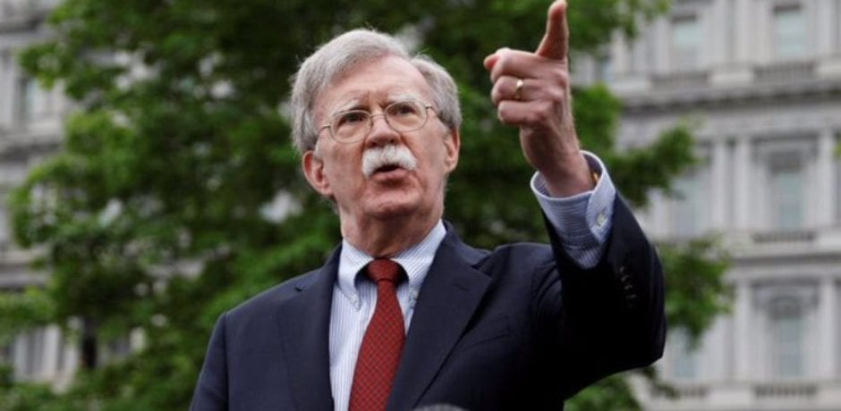 JUST IN: Trump Fires John Bolton After 'Strongly Disagreeing' With His Policy Suggestions
