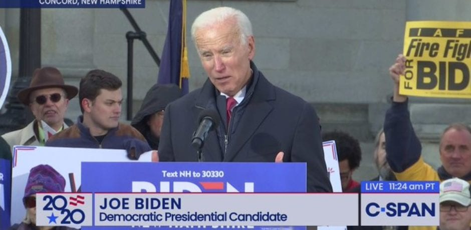 "Joe Biden Clueless on Guns: ""Nobody says you can have a round, a magazine with 100 clips in it…100 bullets in it"""