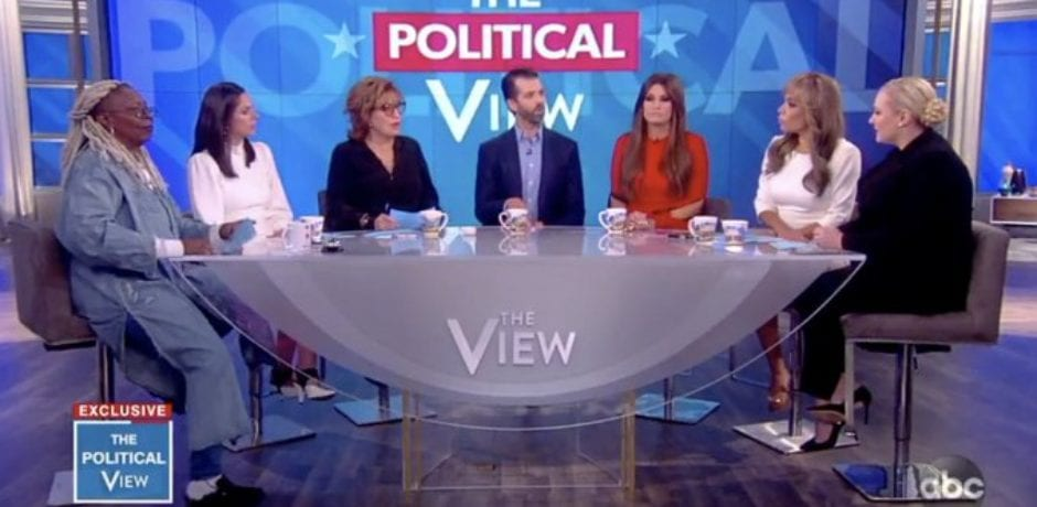 "Donald Trump Jr. Destroys 'The View' Panel With Brutal Truth…Joy Snaps at Audience: ""This isn't a MAGA rally!"""