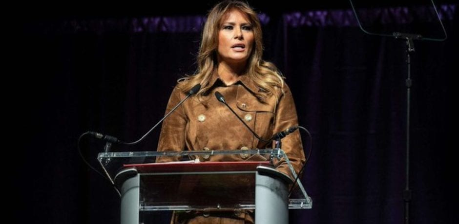 Baltimore Youth Boo and Jeer First Lady Melania Trump as She Speaks At Summit For Opioid Awareness