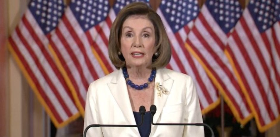 """Nancy Pelosi Announces """"Sadly"""" Dems Move Forward With Impeachment…Assure The Reelection of President Trump"""