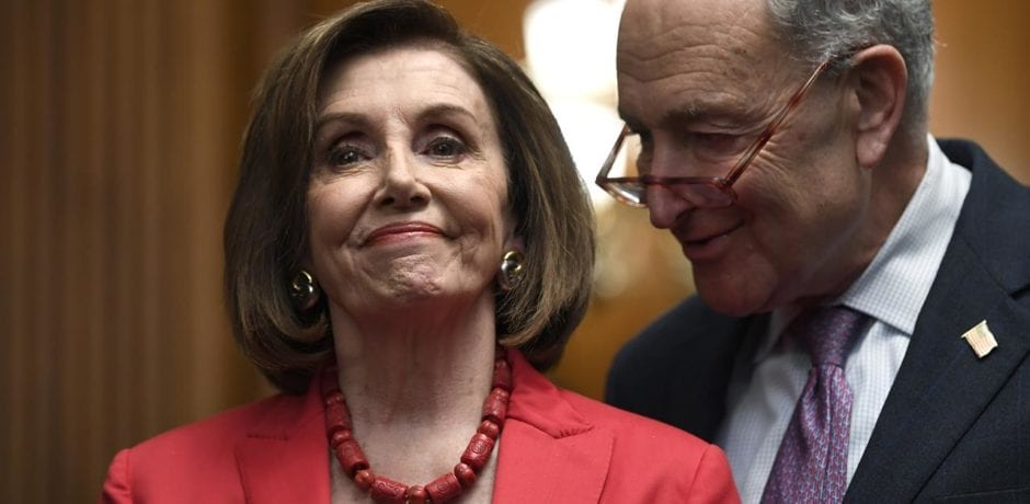 Here's The List Of Shocking Items Democrats Tried To Add To Coronavirus Aid Bill: Same-Day Voter Registration, Required Early Voting, $600 Million For Arts & Humanities and MORE