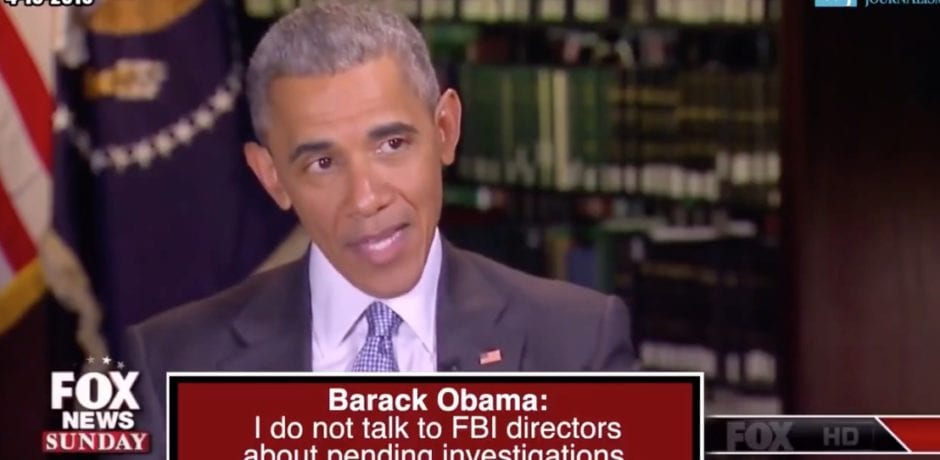 "Breaking: IG Report Reveals Obama Was Briefed On Trump-Russia Investigation…Proving Obama Lied About Not Talking To Comey About ""Pending Investigations"" [Video]"