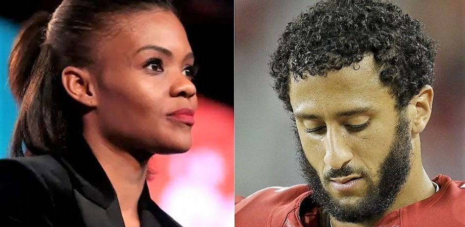 "Candace Owens Smokes Colin Kaepernick After He Decries US ""Terrorist Attacks Against Black and Brown People"""