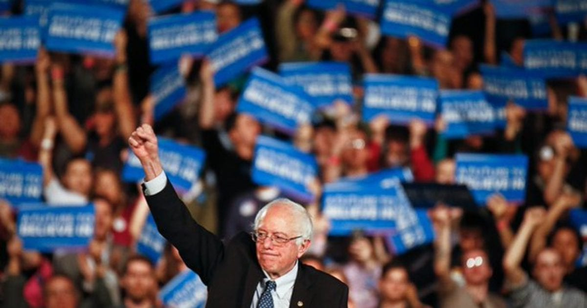 "Bernie Sanders: The ""Undocumented"" are ""Entitled"" to the Same ""Basic Human Rights"" as Legal Americans"