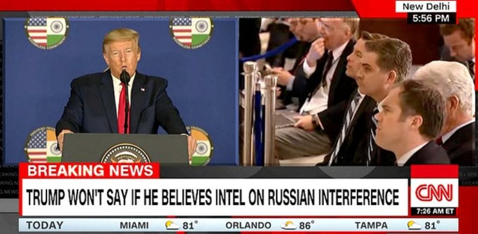 CNN's Jim Acosta Takes Swipe at Trump…The President Calmly Hits Back