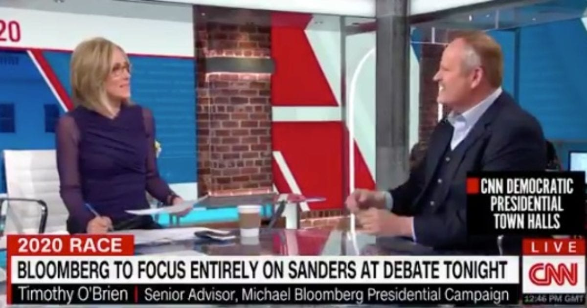 "Bloomberg Advisor Goes There: Shocks CNN Host With Bernie's ""Loopy"" Sexual Oddities"