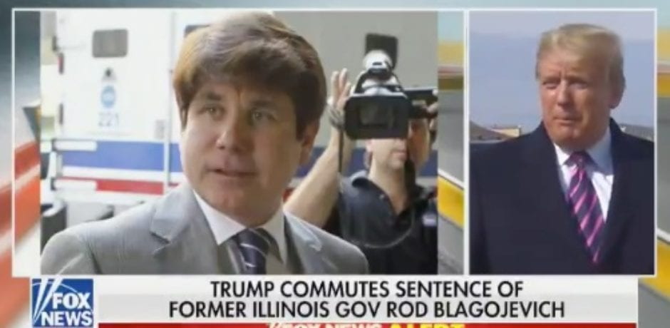 "Trump Speaks Out After Commuting ""Ridiculous"" Sentence of Rod Blagojevich"