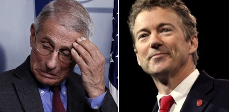 """""""I told you so!""""...Senator Rand Paul Calls Fauci Out for Lying to Congress After NIH Confirms They Funded Wuhan's Gain of Function Research [Video]"""