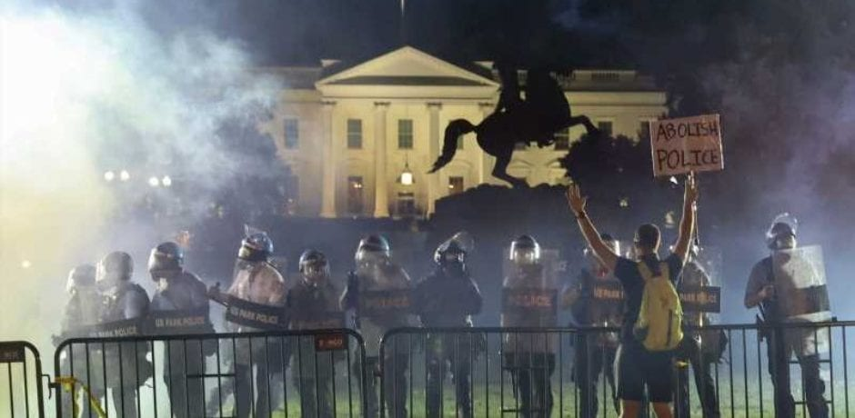 Democrats Fight To Defund Police in D.C, City Council Votes To Prohibit Police From Using Tear Gas, Pepper Spray, Rubber Bullets, Stun Guns…Lawsuit Filed To Remove Fencing Around White House