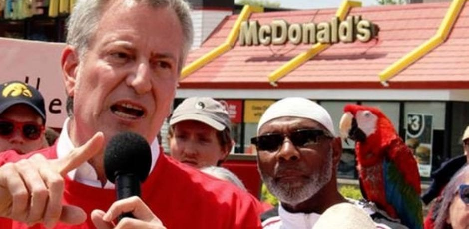 De Blasio's 'Safer' New York: Body Found Wrapped In Plastic On McDonald's Roof