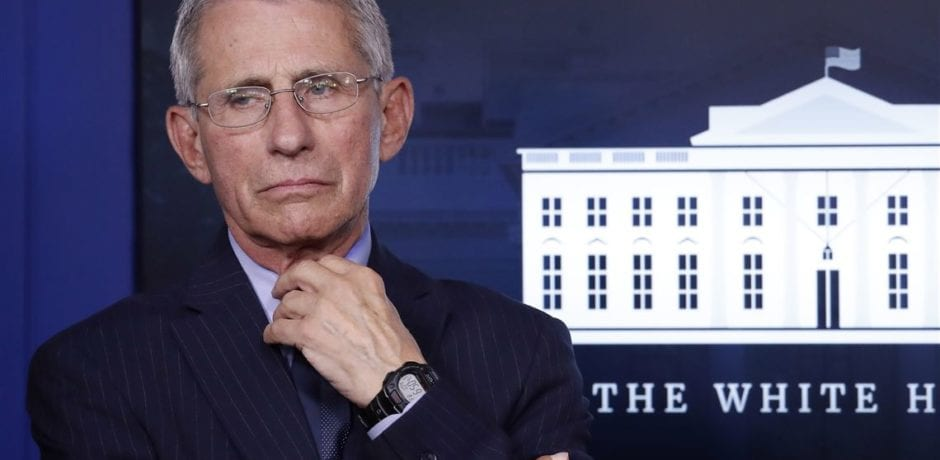 """Fauci Tries To Convince Americans Not To """"Take Comfort"""" In """"False Narrative"""" of Lower Rates of COVID-Related Deaths"""