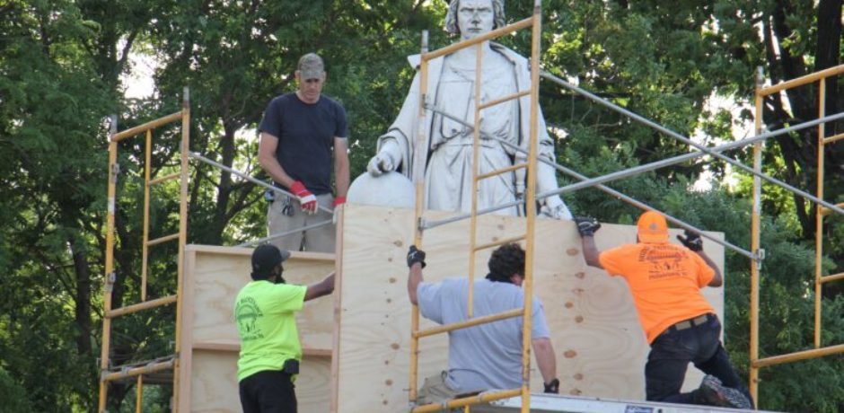 BREAKING: Philadelphia Art Commission Votes To Remove Longstanding Columbus Statue, To Be Placed In Storage