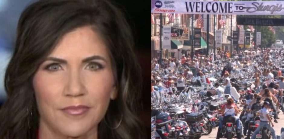 "Video: South Dakota Gov All-In on Sturgis Motorcycle Rally of 250k: ""I trusted my people and they trusted me"""