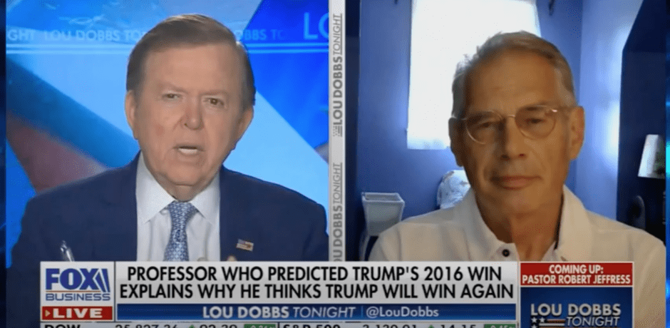 """Political Science Professor Who's Correctly Called 5 Of Last 6 Presidential Elections Says Trump Will Win In A """"Landslide"""" [VIDEO]"""