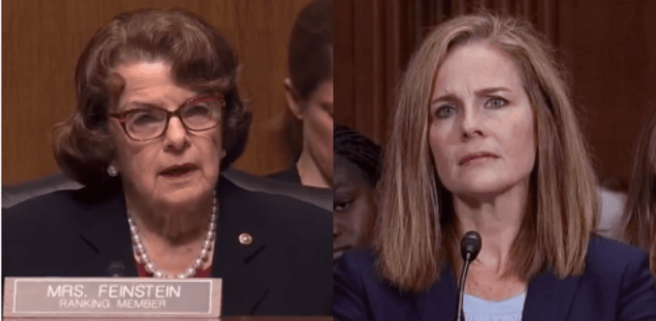 Video: Senator Feinstein Attacked Potential Supreme Court Nominee's Catholic Faith: 'The Dogma Lives Deep Within You'