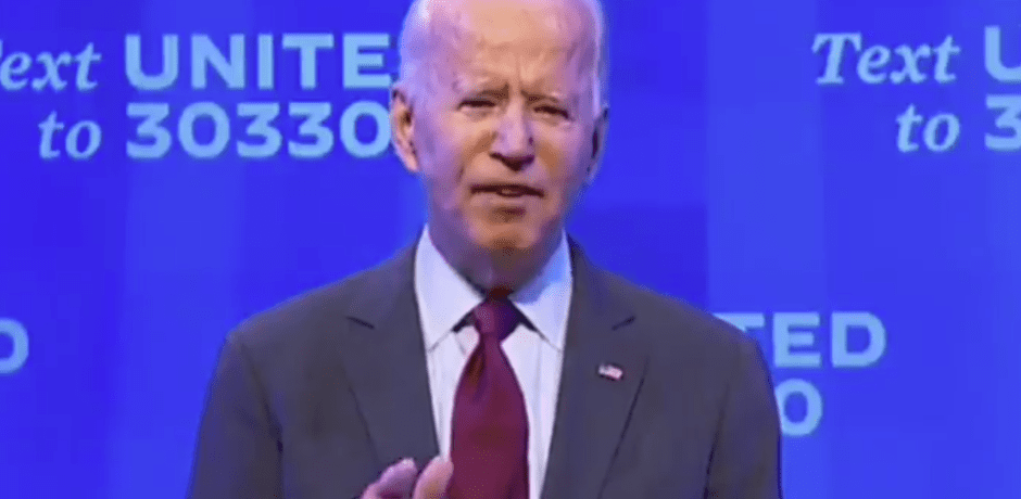 Video: Joe Biden Calls for Senate Dems to Stop Voting Process on Judge Amy Coney Barrett