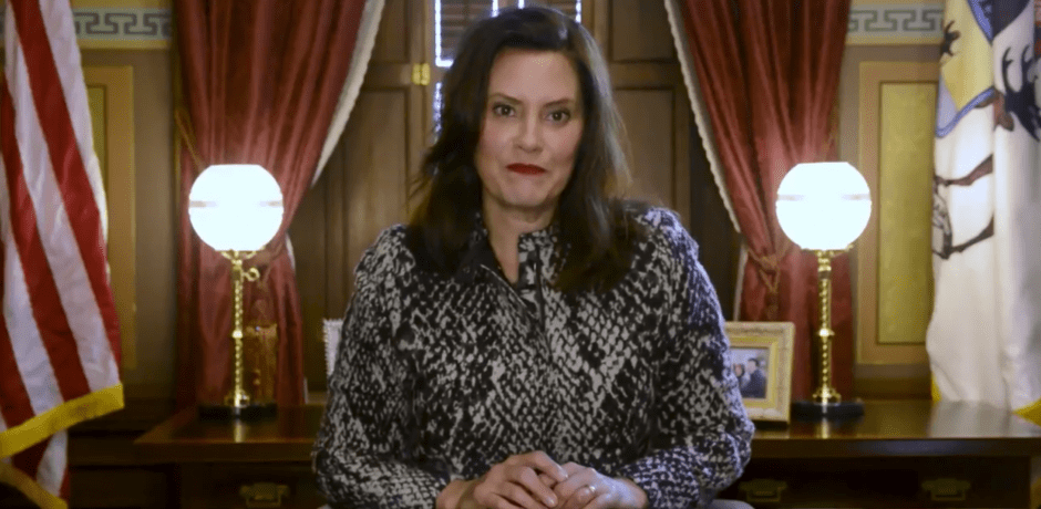 MI Gov Whitmer Threatens Citizens With $1,000 Fine And/Or Jail Time For Not Wearing A Mask Less Than One Week After Her Draconian Exec Orders Were Struck Down By Supreme Court