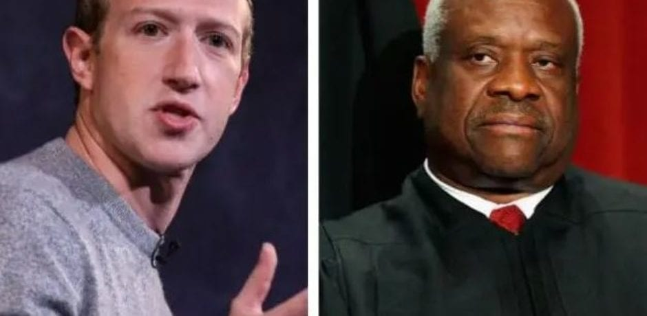 BREAKING: Facebook Censorship Case Set For Supreme Court Docket, Justice Thomas Claims 'Many Courts Have Construed The Law Broadly'