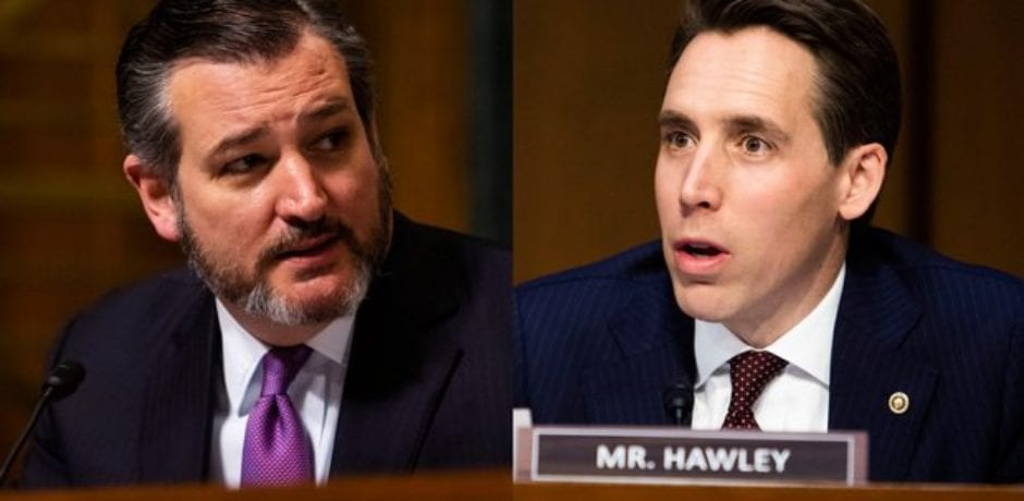 AUDIO: Homeland Security Committee Chair Wants GOP Senators Ted Cruz And Josh Hawley On Federal No-Fly List