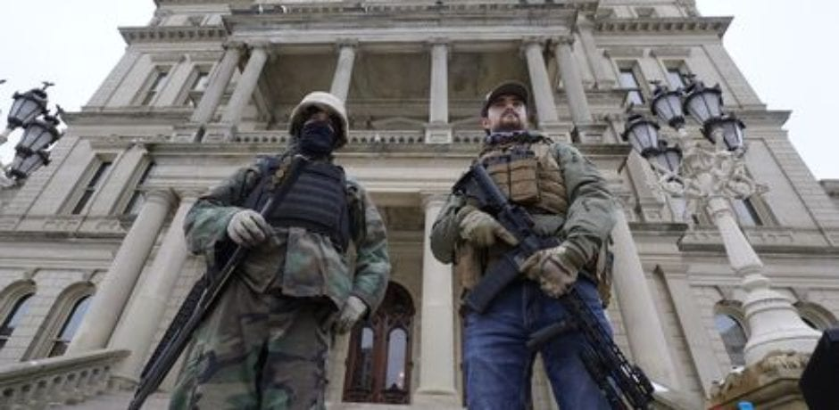 BREAKING: Open Carry Of Firearms Banned In Michigan Capitol Building...Despite Being An Open Carry State