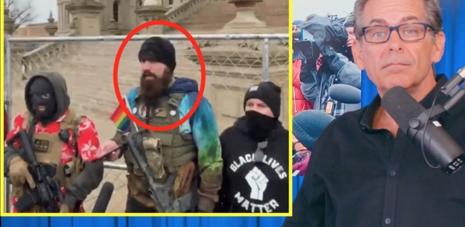 "Progressive Talk Show Host Jimmy Dore Interviews Radicalized MI Anarchist ""Boogaloo Boi"": ""I was completely floored when he said he is Pro LGBTQ, Pro Police Brutality, Pro BLM, Anti-ICE"" [VIDEO]"