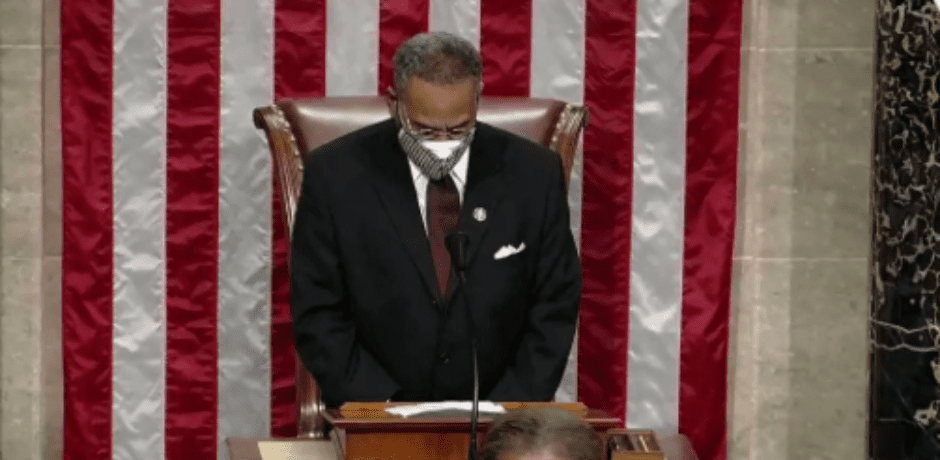 """Video: House Prayer to Open 117th Congress Ends With Amen and """"Awoman""""...Unbelievable"""