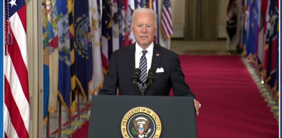 HAPPENING NOW: Biden Delivers First Prime-Time Presidential Address [LIVE]
