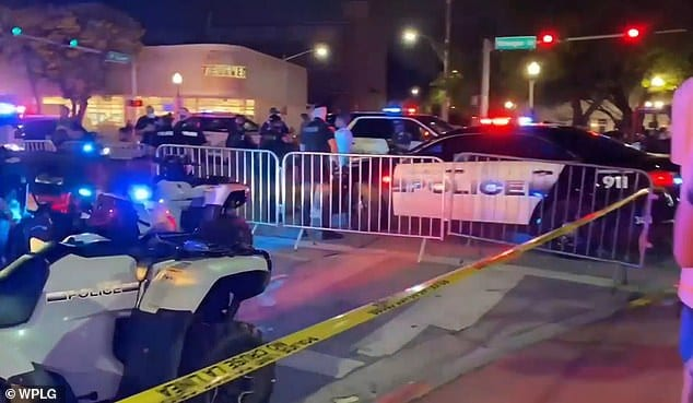 SWAT Team Moves In As Spring Breakers Commit Violence, Destroy Restaurants Police-miami