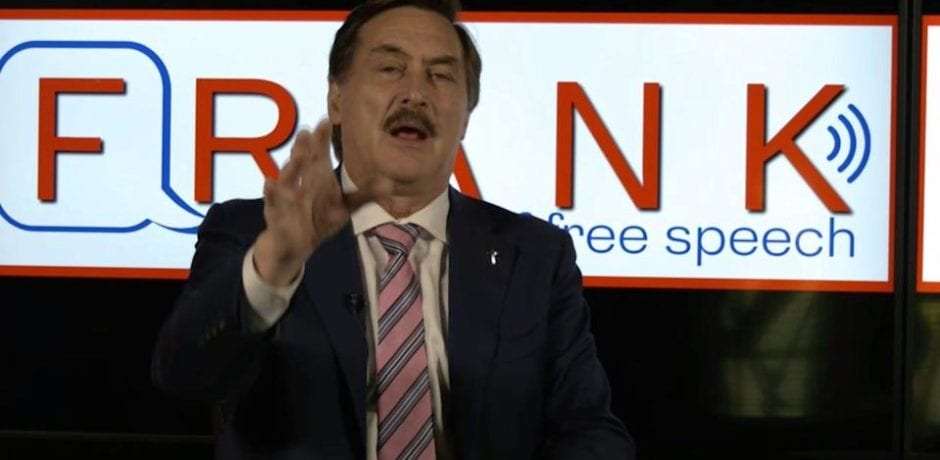 """Mike Lindell's NEW Free-Speech """"Frank"""" Reaches ONE BILLION Views In Less Than 48 Hours!"""