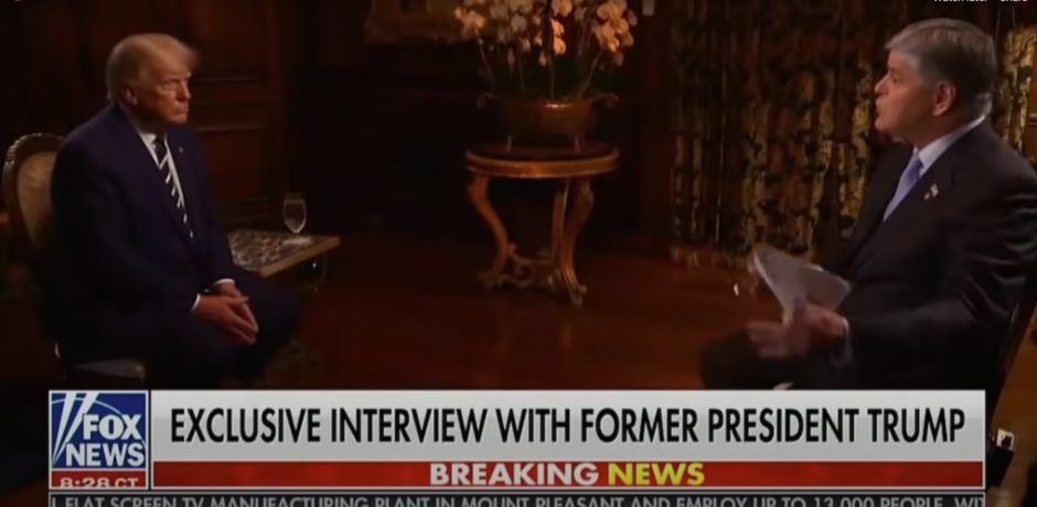 Video: Trump Slams Biden in First Sit-Down Interview...Warns of America's Future Without MAGA Agenda