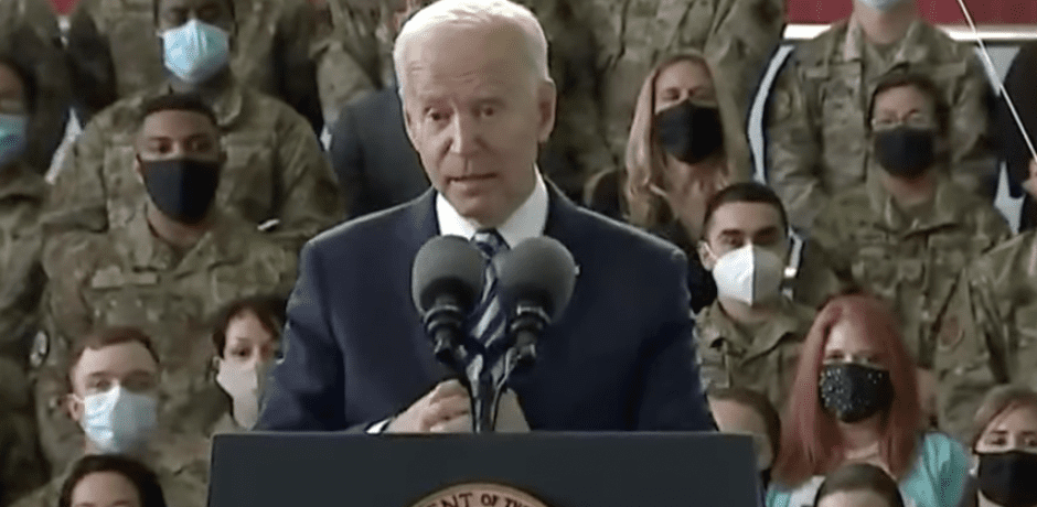 """BREAKING VIDEO: Joe Biden Repeats False Claim He's Been To Afghanistan And Iraq """"Well Over 27, 28 Times"""""""