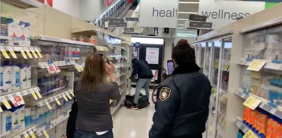 INCREDIBLE VIDEO Shows Shoplifter Brazenly Stealing Garbage Bag Full Of Items From Walgreens As San Francisco Gives Slap On Wrist For Stealing Up To $950 In Merchandise